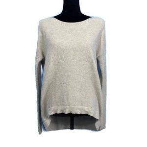 THEORY Efina B Cashmere Cotton Sweater S